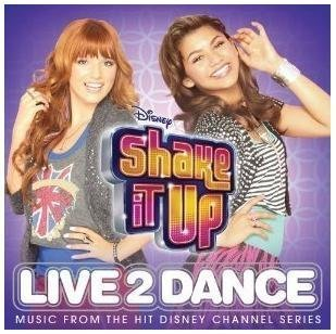 Disney Shake It Up Live To Dance CD LIMITED EDITION Includes 3 BONUS Songs by Bella Thorne, Zendaya (0100-01-01) 【並行輸入品】