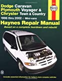 Dodge Caravan, Plymouth Voyager & Chrysler Town & Country: 1996 thru 2002