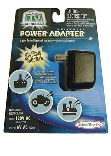 Jakks Pacific Toymax Tv Games A/C Adaptor