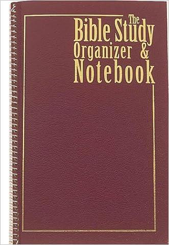 BIBLE STUDY ORGANIZER & NOTEBOOK