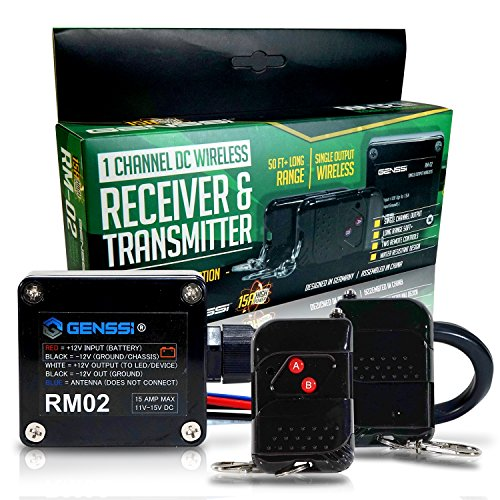 GENSSI-High-Power-15A-Wireless-Remote-Controller-Transmitter-On-Off-Switch-for-Car-Truck-Marine-Boat-RV