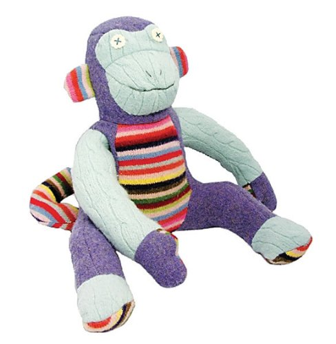 Cate and Levi Inc - Monkey Organic Cotton Stuffed Animal, 1 toy