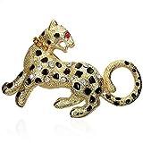 Fashion Alloy Leopard Tiger Zodiac Sign Multicolor Brooch