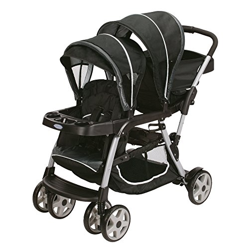 Cheapest Price! Graco Ready2grow Click Connect LX Stroller, Gotham 2015