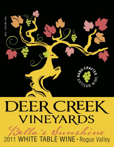 2011 Deer Creek Vineyards Bella'S Sunshine White, Rogue Valley 750 Ml