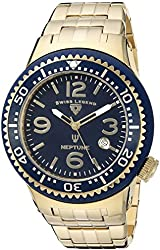 Swiss Legend Men's 21848P-YG-33 Neptune Force Analog Display Swiss Quartz Gold Watch