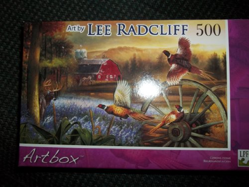 Art Box Lee Radcliff Coming Home 500 Piece Puzzle
