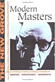 img - for Modern Masters: Bartok, Stravinsky, Hindemith (The New Grove Series) book / textbook / text book
