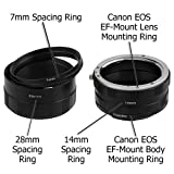 Fotodiox Canon EOS Macro Extension Tube Set for Extreme Close-Ups