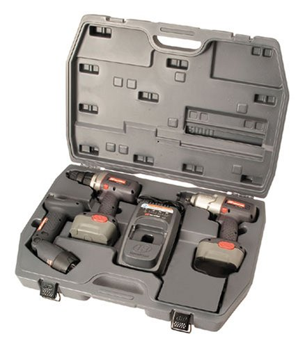 Ingersoll Rand 2589K 14.4-Volt Cordless Impact Wrench And Drill Kit