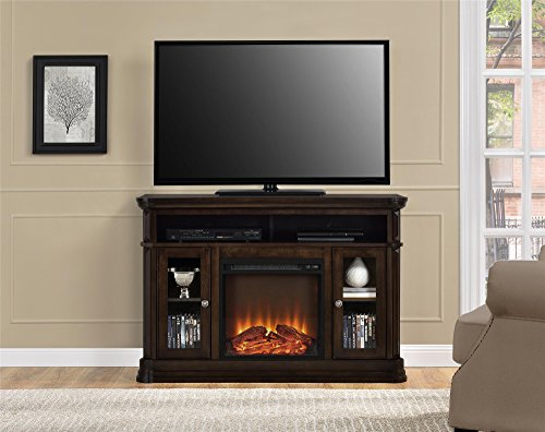 Altra Furniture Brooklyn Fireplace Tv Stand 55 Espresso Furnitures Sale