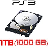 1TB (1000GB) Festplatte für SONY Playstation 3, ALLE Baureihen inkl. PS3 SLIM 1000GB