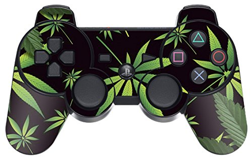 Designer Skin for Playstation 3 Remote Controller - Weeds Black (Ps3 Controller Skin America compare prices)