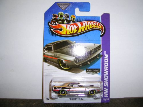 Hot Wheels HW Showroom '71 Hemi Cuda Zamac 003 234/250 - 1