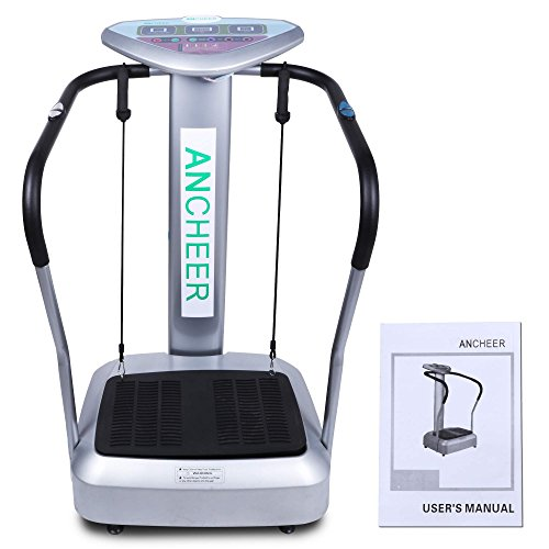 Best Buy! Ancheer Full Body Vibration Platform Fitness Massage Machine Exercise Trainer Plate 1000W