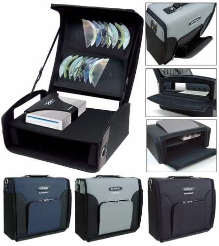 Naki-Wii G-pak Console Organizer Case - Black