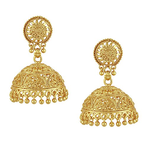 Shining-Jewel-Gold-Brass-Jhumki-Earrings-For-Women-Sj45