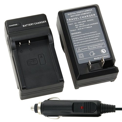 eForCity Battery Charger Compatible with NP-BN1 Sony Cyber-shot W330 W350