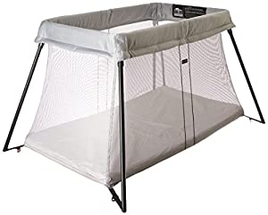 babybjorn travel crib light silver great website for quality baby products. Black Bedroom Furniture Sets. Home Design Ideas