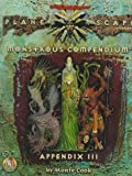 Monstrous Compendium, Appendix III (Planescape; Advanced Dungeons & Dragons, 2nd Edition, Accessory/2635) (0786907517) by Monte Cook