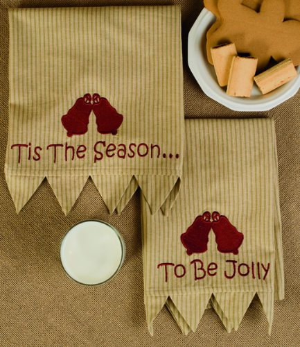 Home for the Holidays Holiday Christmas Tea Towels