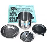 Vietnamese Traditional Coffee Filter (Phin) 15 Ounce, Gravity Insert