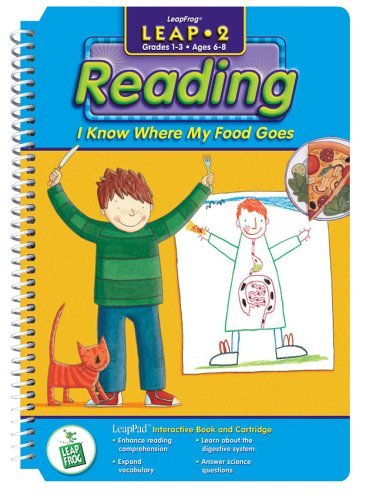 "LeapPad: Leap 2 - ""I Know Where Food Goes"" Interactive Book and Cartridge - 1"