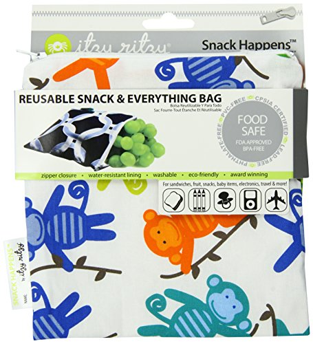 itzy-ritzy-snack-happens-reusable-snack-and-everything-bag-monkey-mania