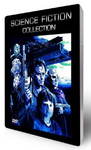Science Fiction Collection - Metallbox (2 DVDs mit 8 Filmen)