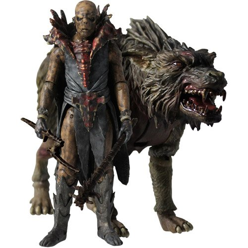 The Hobbit Orc Fimbul on Warg Action Figure Set (Hobbit Action Figure Set compare prices)