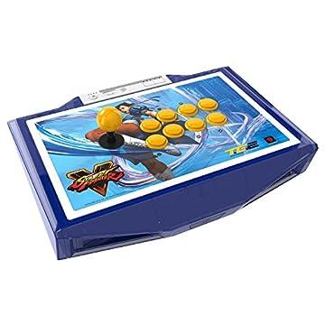 ストリートファイターV アーケード ファイトスティック TE2 トーナメント エディション 2 春麗 PS3/PS4 (MCS-FS-SFV-TE2-CHL) ボタンやレバーの交換、フェイスプレートのカスタマイズなどが簡単に行える次世代筐体アケコン (マッドキャッツ所属プロゲーマー「ウメハラ」、「ときど」、「マゴ」 使用モデル) [PlayStation3 / PlayStation4 両対応]