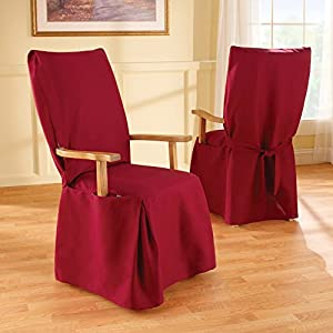 dining room chair slipcover with arms claret armchair slipcovers
