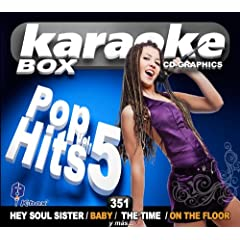 KBO-351 Pop Hits Vol. 4(Karaoke) by BoB,Bruno Mars, Katy Perry, Justin Bibier, Black Eyed Peas, Rihanna, Bruno Mars, Jennifer Lopez,Pitbull, Edward Maya, Martin Solveig,Dragonette, Kings Of Leon, David Guetta Train