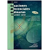 img - for Ecuaciones diferenciales ordinarias. Un primer curso book / textbook / text book