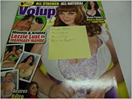 "Voluptuous Men's Magazine ""Micky Bells"" ""Miosotis"" ""Arianna"" ""Diane"