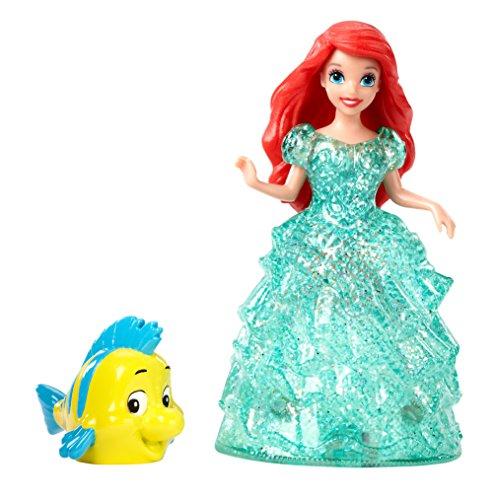 Disney Princess Glitter Glider Ariel Doll - 1