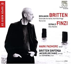 Britten: Serenade for tenor horn and strings; Finzi: Dies Natalis