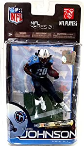 McFarlane Toys NFL Sports Picks Series 24 Action Figure Chris Johnson (Tennessee... by Unknown