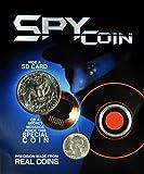 Spy Coin -Micro Sd Card Secret Compartment Quarter