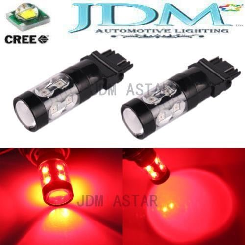 Jdm Astar Extremely Bright Max 50W High Power 3056 3156 3057 3157 Led Bulbs ,Brilliant Red