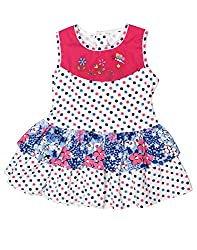 Babeezworld Baby Girl's Frock (18-24 Months)