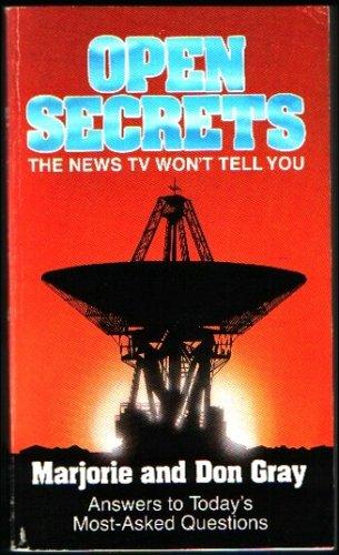 Open secrets: The news TV won't tell you, MARJORIE GRAY