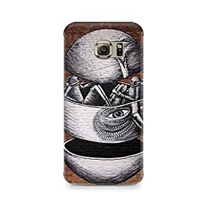 Mobicture Cartoon Premium Printed Case For Samsung S6 Edge G9250