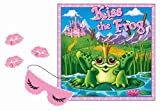 Kiss The Frog Party Game (mask & 12 lips included) Party Accessory  (1 count) (1/Pkg)