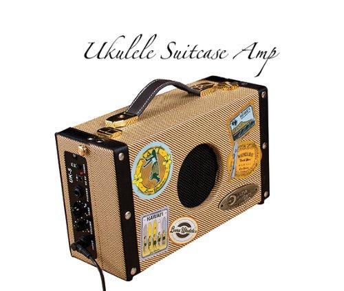 Luna Ukulele Portable Suitcase Amp – 5 watts