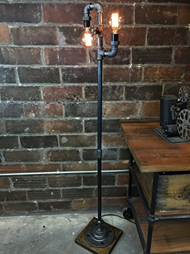 Industrial Style Floor Lamp - Multi Bulb Edison Floor Lamp 1