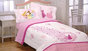 Disney Princess Twin Sheet Set - Heart of Princess