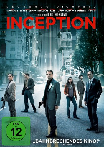 Inception, DVD