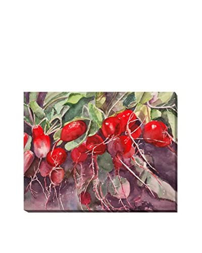 """Lynne Atwood """"Radishes"""" Weather-Resistant Canvas Print"""