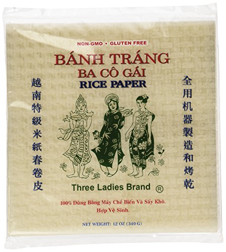 Rice Paper Wrappers (Square)